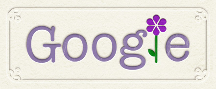 Google Logo: Happy mother's day in Thailand