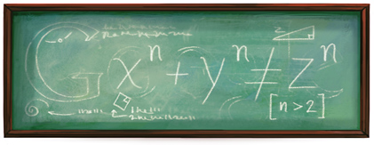 I have discovered a truly marvelous proof of this theorem, which this doodle is too small to contain.