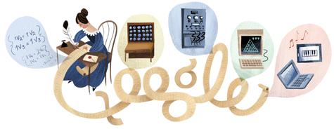 วันเกิดครบรอบ 146 ปีของ Ada Lovelace
