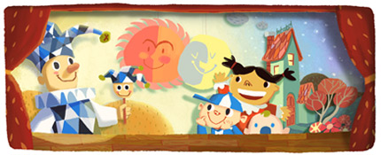 Google Logo: National Children's Day in Thailand 2012