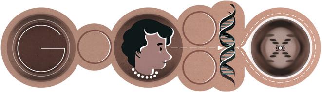 Rosalind Franklin's 93rd birthday