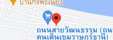 แผนที่ของถนนคนเดินเขมราฐ